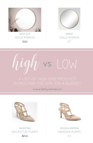 high end product dupes